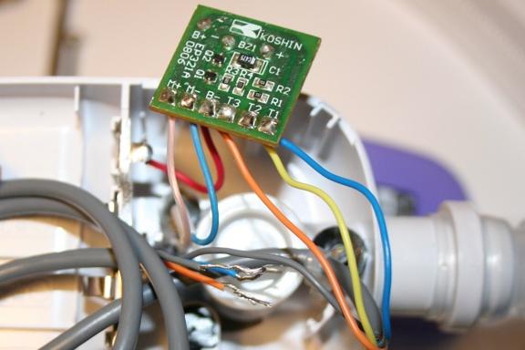 503FBのブザー回路基盤