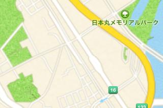 日本の地図の出来はまだ不十分