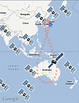 QZ-finder on Google Maps