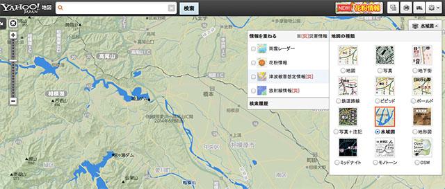 Yahoo Japan  Map