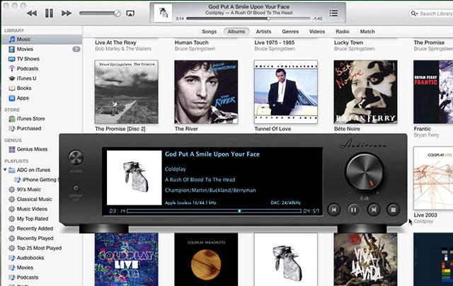iTunes連携モードで使用