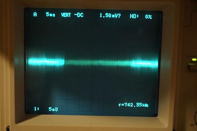 電源部のノイズ波形