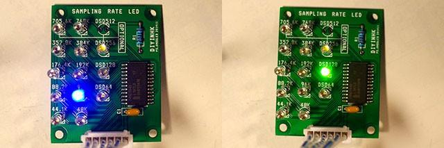 Mode Indicator LEDs