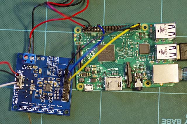 Raspberry Pi 2 とI2S接続