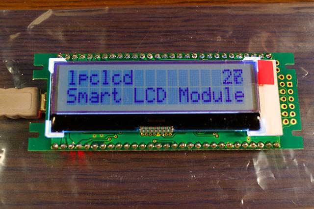 lpclcd の液晶表示器