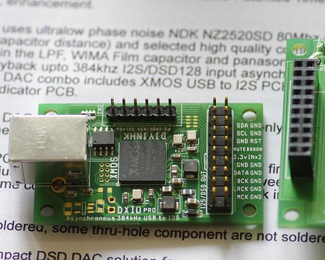 XMOS USB PCB
