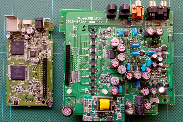 DAC and DSP modules