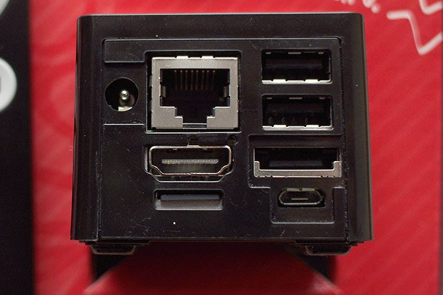 CuBox IO connectors