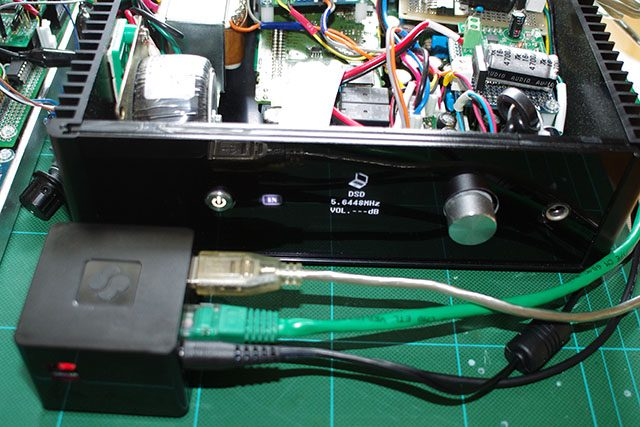 Playing DSD128 sound