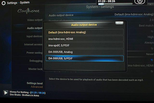 Setting USB Soud Device