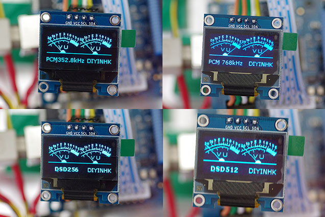 OLED VU Meter