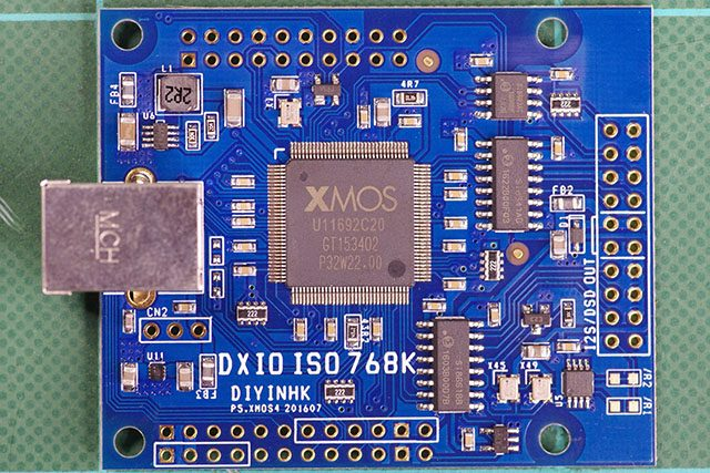 DXIO ISO 768K Front Side
