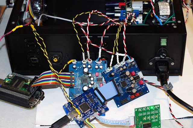 Testing AK4497 DAC board