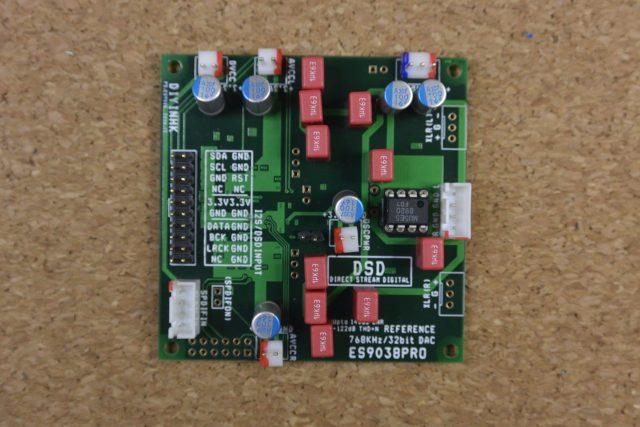 DAC基板(表面側)