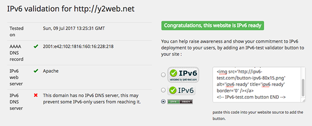 IPV6Test-HTTP