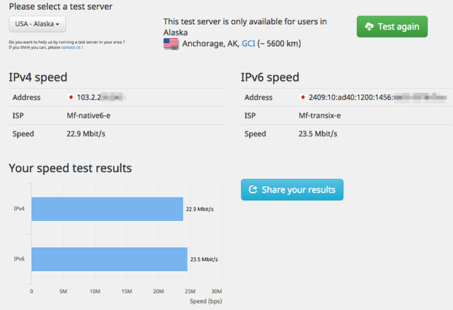 IPv6Test-Speed