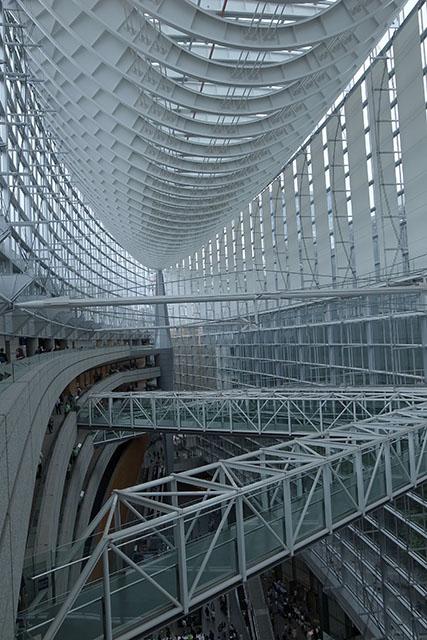 上から見た国際フォーラム棟