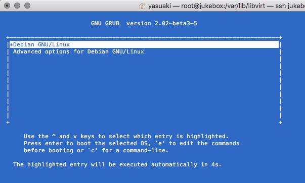 Debian Start GRUB 01