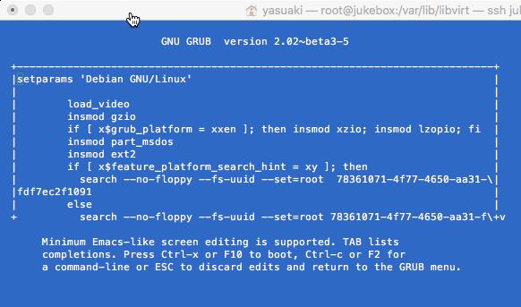 Debian Start GRUB 02