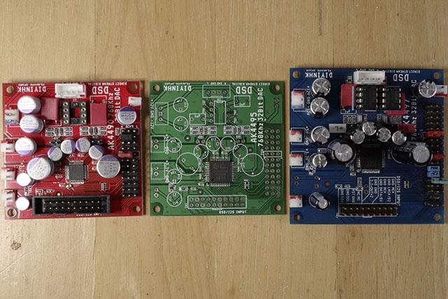 DIYINHK AK449xEQ Boards