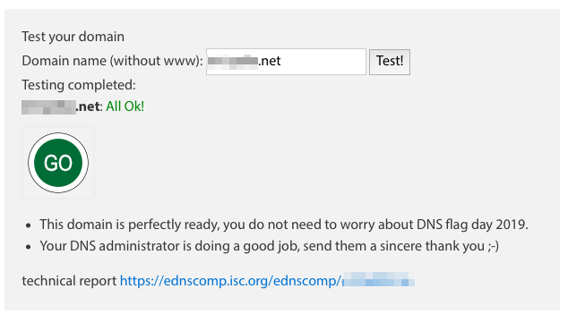 My Mail Domain's Report