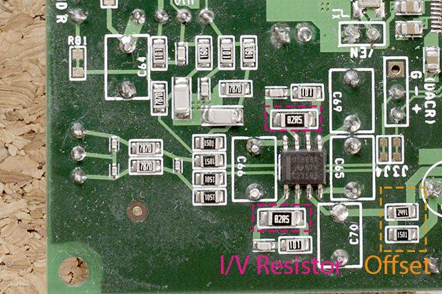 ES9038PRO DAC board IV-Conversion