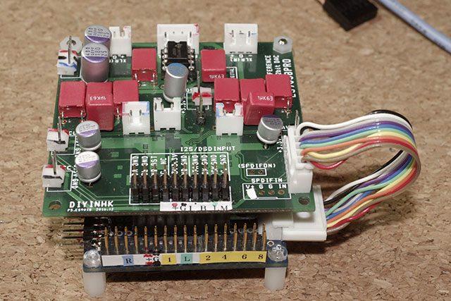 8ch DAC board
