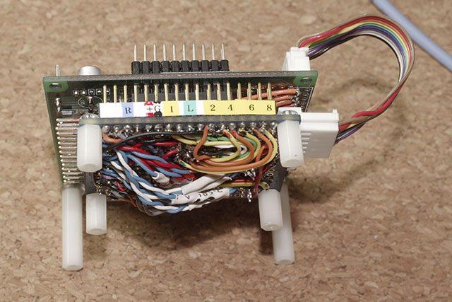 8ch add-on DAC board side-view