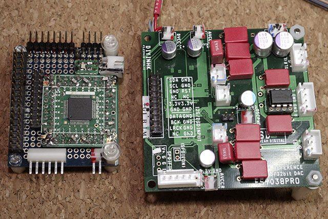 Add-on DAC board