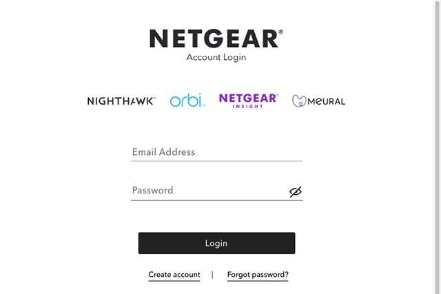 NetGear Account Login