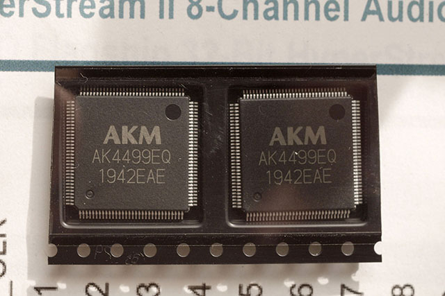 AK4499 DAC Chip