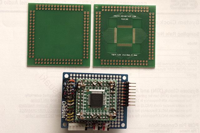 0.4mm QFP128 Conversion Board