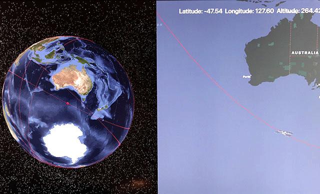 NASA TV  Tracking the I.S.S.