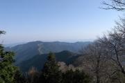 吉野の山々