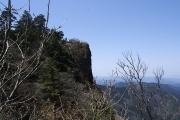西ノ覗きの崖