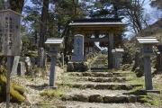 大峯山寺の山門
