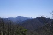 山上ヶ岳からの眺め