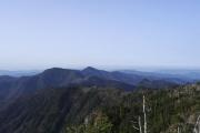 八経ヶ岳から南方面
