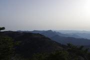八経ヶ岳から北西方面