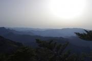 八経ヶ岳から東方面