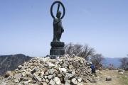 釈迦ヶ岳頂上