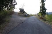 玉置山展望台へ