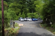 林道終点のゲート