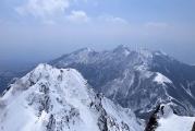 八ヶ岳連峰南端の山々