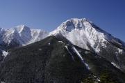阿弥陀岳と中岳