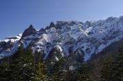 横岳の西壁