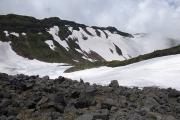 千蛇谷コースで下山