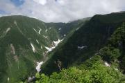 奈曽渓谷と白糸の滝