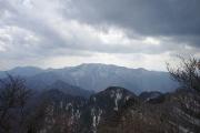 弥山、八経ヶ岳方面