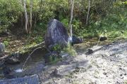 登山口の水場